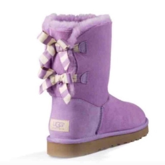 Light Purple Bailey Bow UGGS